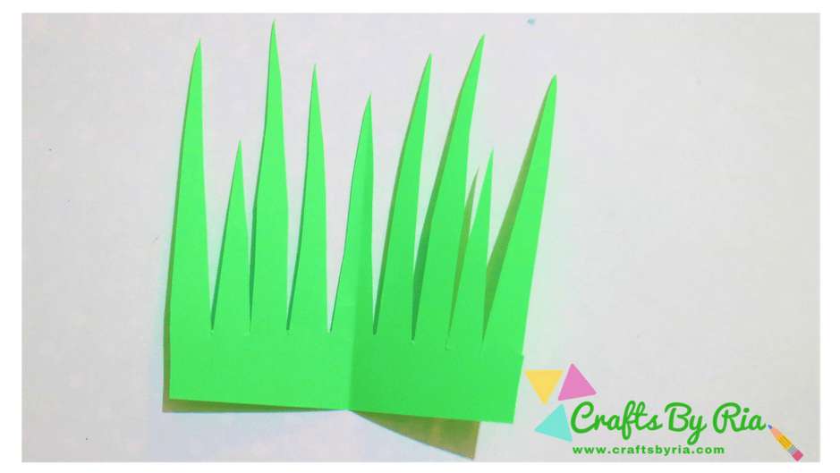 paper lavender steps-cut some leaves for the lavender