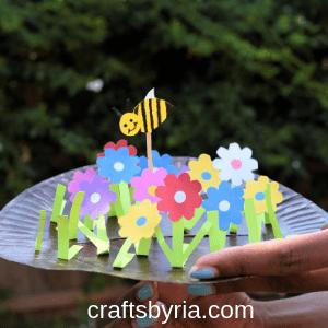 spring paper plate garden-thumbnail