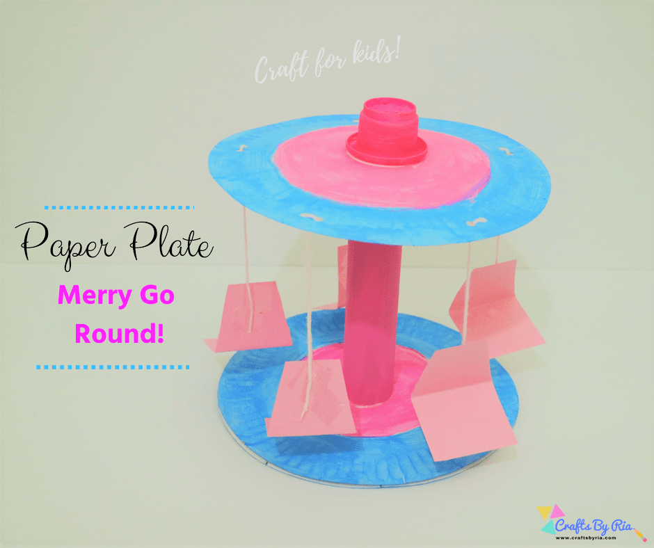 paper plate merry go round-fb