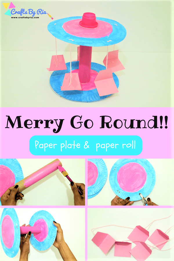 paper plate merry go round-pin2