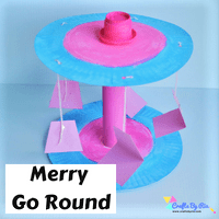 paper plate merry go round-thumbnail
