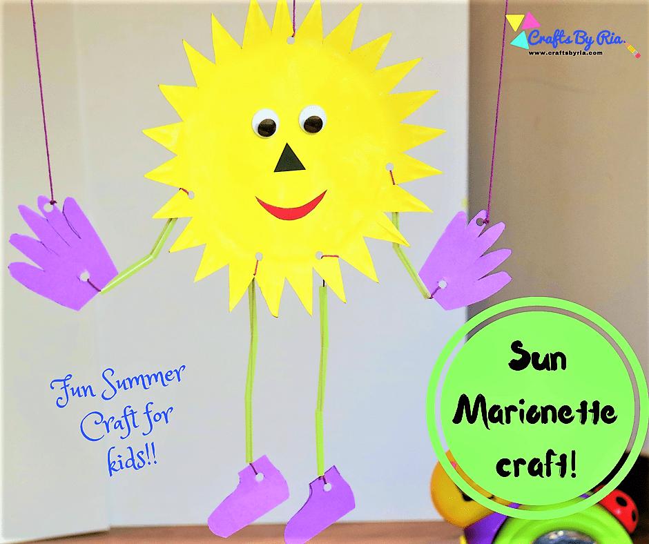 paper plate sun marionette-fb