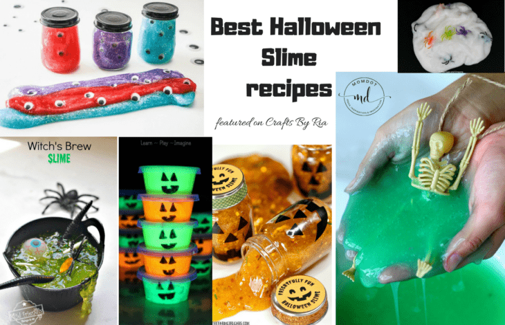 best halloween slime recipe ideas-featured
