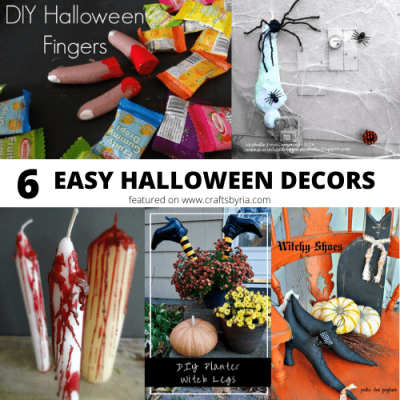 cheap Halloween decoration ideas for teens and tweens-featured image