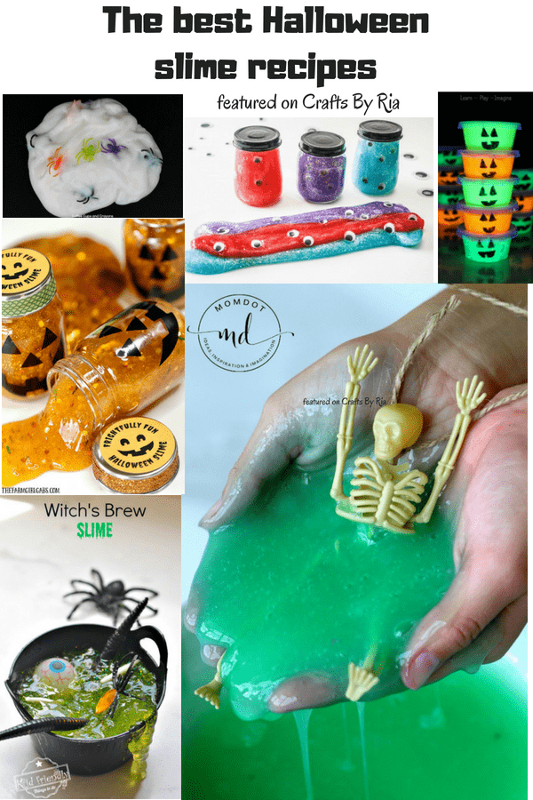 halloween slime recipe-pinterest