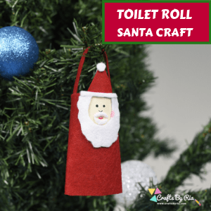 TOILET ROLL SANTA CRAFT -thumbnail
