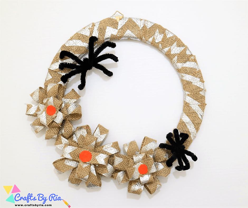 diy halloween wreath-fb