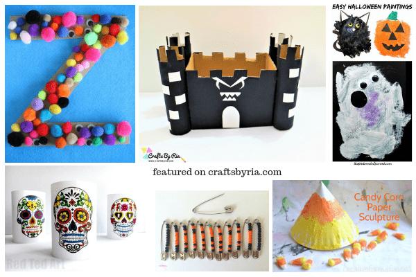 halloween fun-1-easy halloween crafts for kids