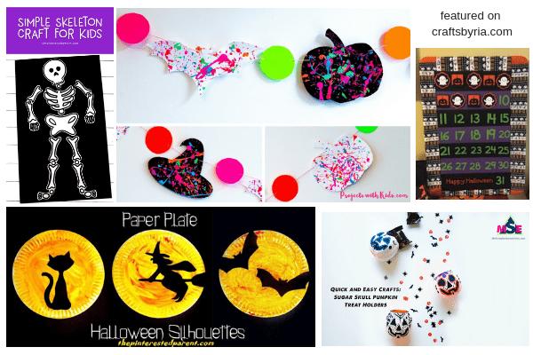 halloween fun-2-easy halloween crafts for kids