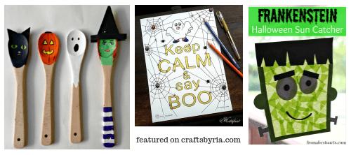 halloween fun-3-easy halloween crafts for kids