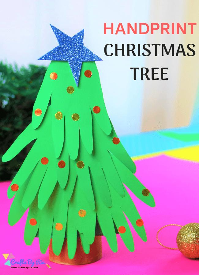 handprint christmas tree-pin1