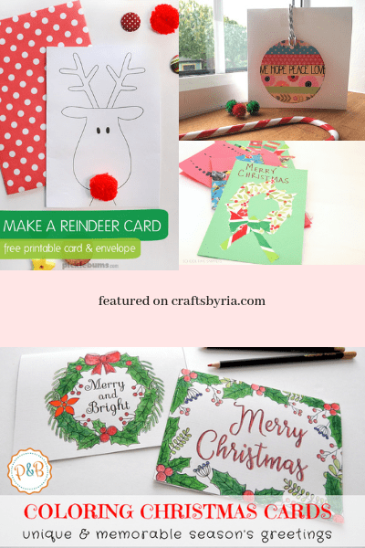 More Christmas card ideas for kids