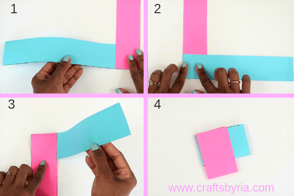 dragon puppet craft-stick paper strips-step4