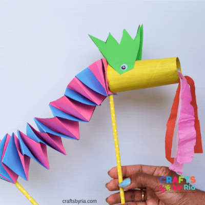 paper dragon craft featured image