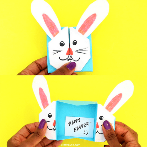 easter bunny box-Easy Easter crafts for kids