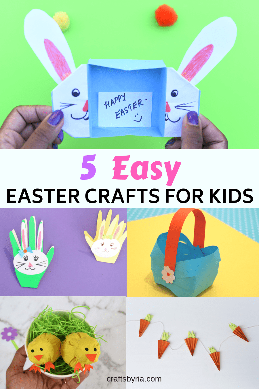 easy easter crafts for kids-pin1