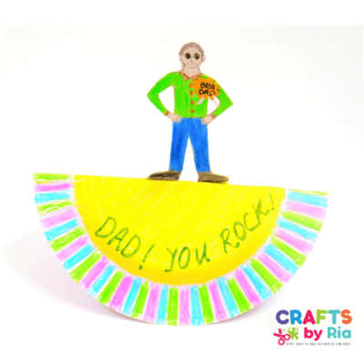dad you rock fathers day craft-featured image 500x500