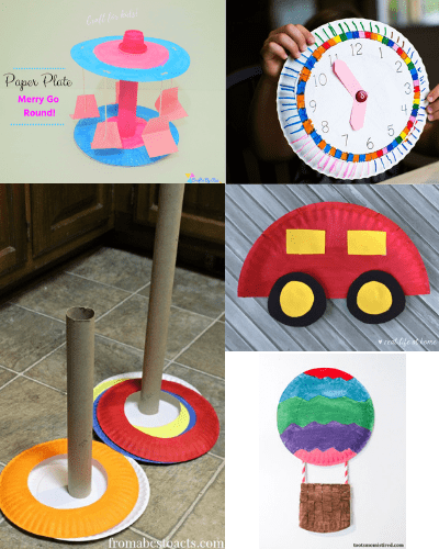 easy paper plate crafts for kids-7