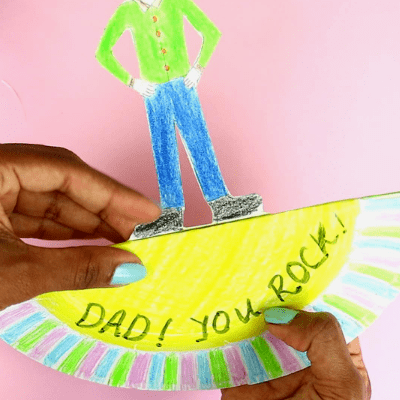 fathers day craft for kindergarten-step6