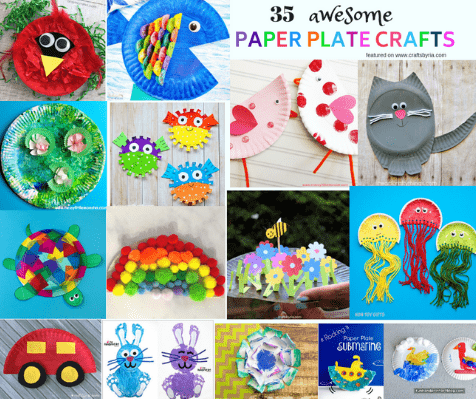 35 paper plate crafts-thumbnail