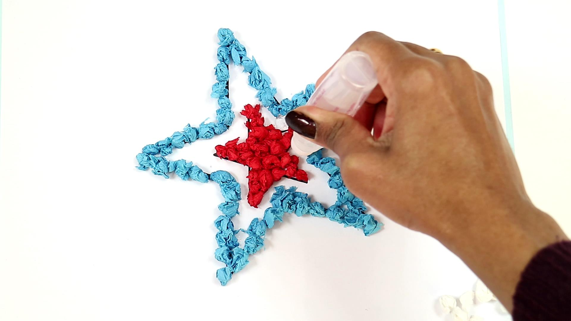 4th of july easy craft for kids-step6