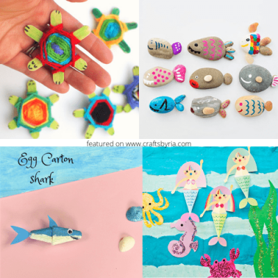 50 summer crafts for kids-featured image