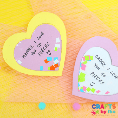 i love you to pieces craft Mothers day and Fathers day-featured image