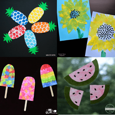other-easy summer crafts for kids
