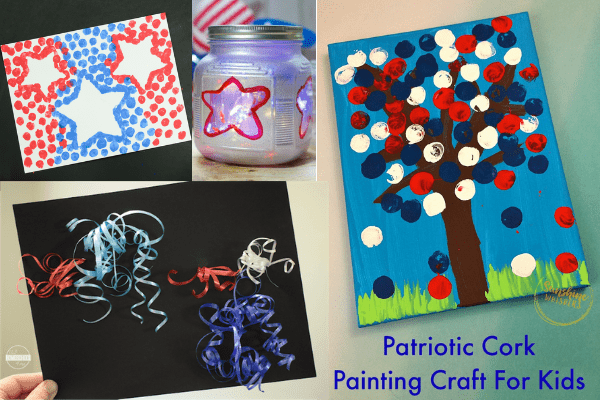 patriotic 4th of july crafts-easy summer crafts for kids