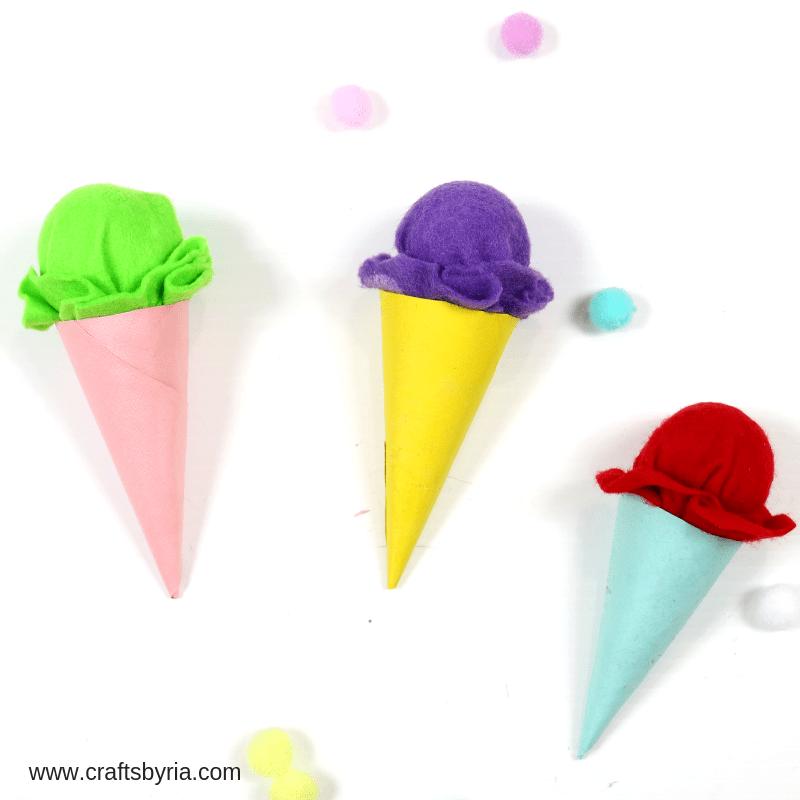 ice cream cone craft craft-social media