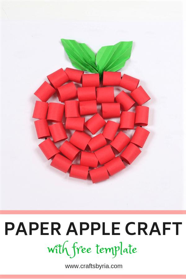 paper apple craft-pin1