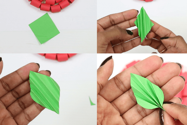 paper apple craft-step7