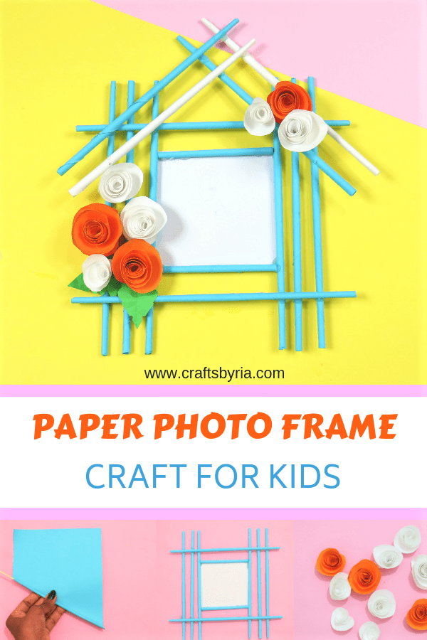 paper photo frame craft for kids-pin1