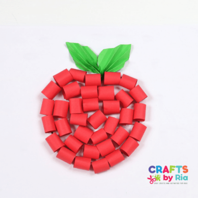 paper apple craft fall-featured image