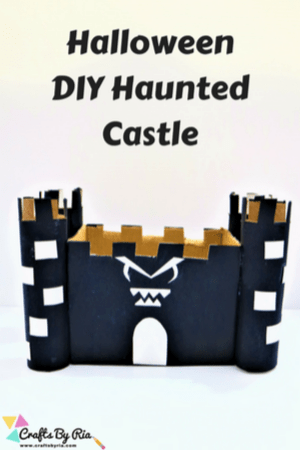 halloween haunted castle with recycled cardboard-thumbnail