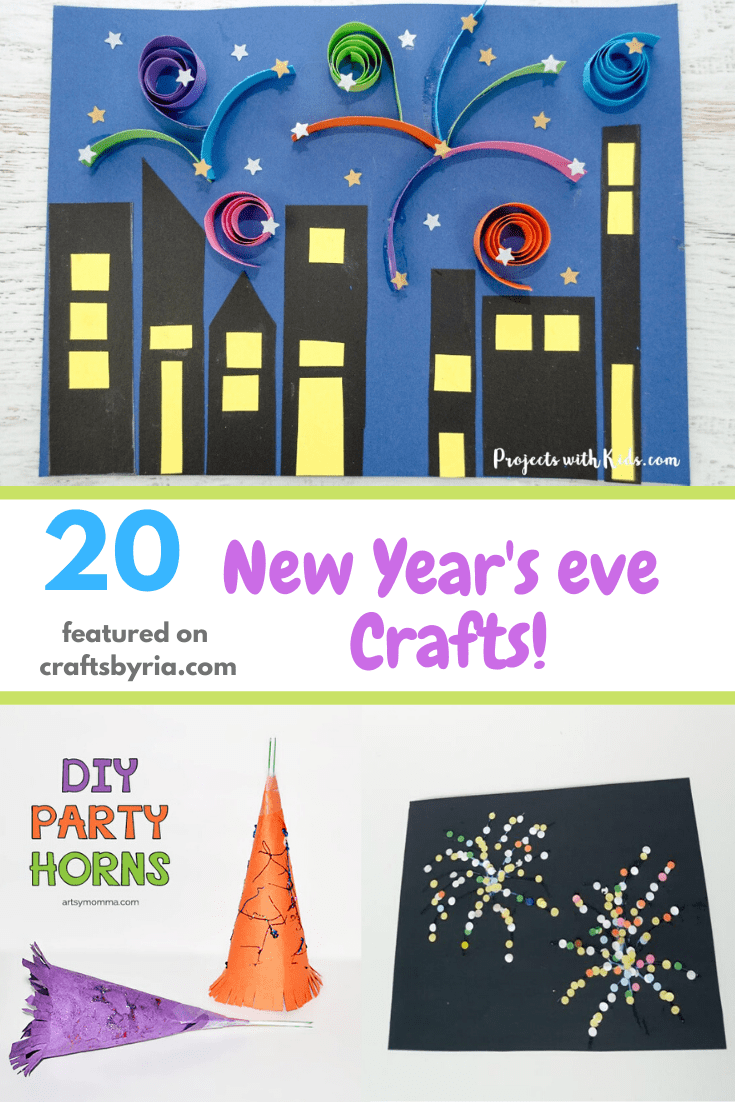20 new year's eve crafts-pin1
