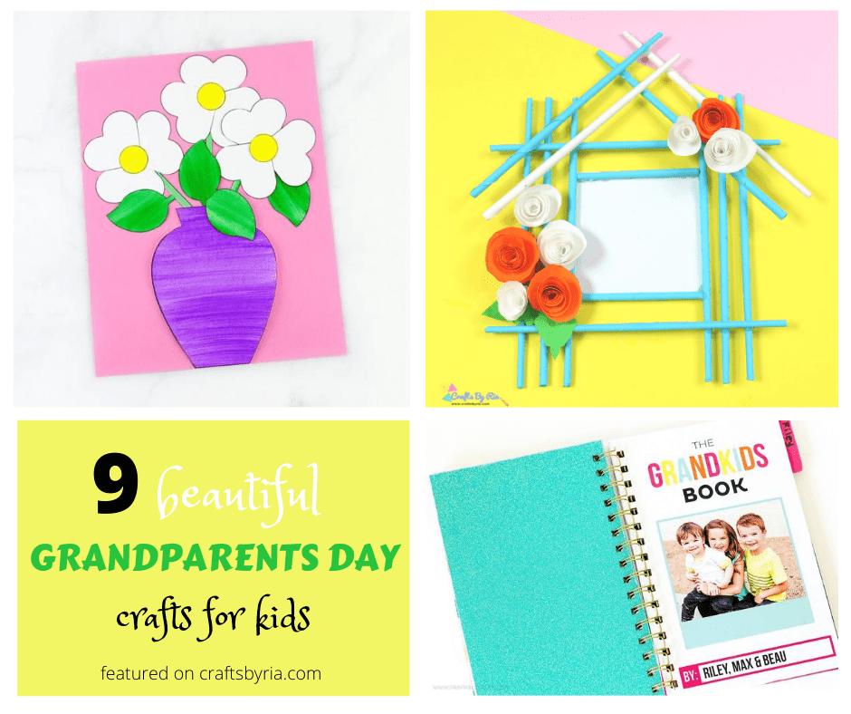 Grandparents day crafts-image for Facebook