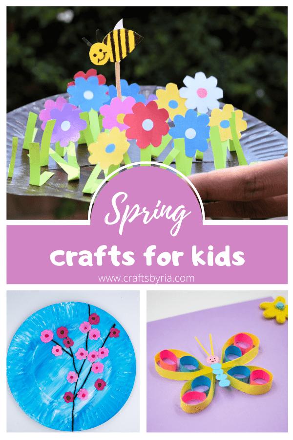 spring crafts for kids preschool