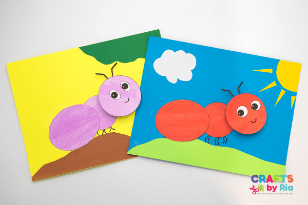 ant craft for toddlers and preschoolers