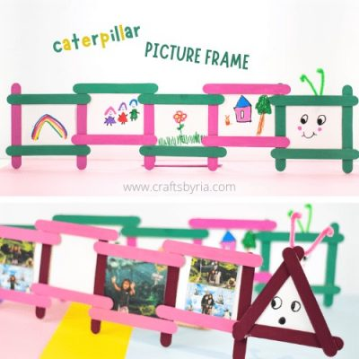 picture frame craft for kids