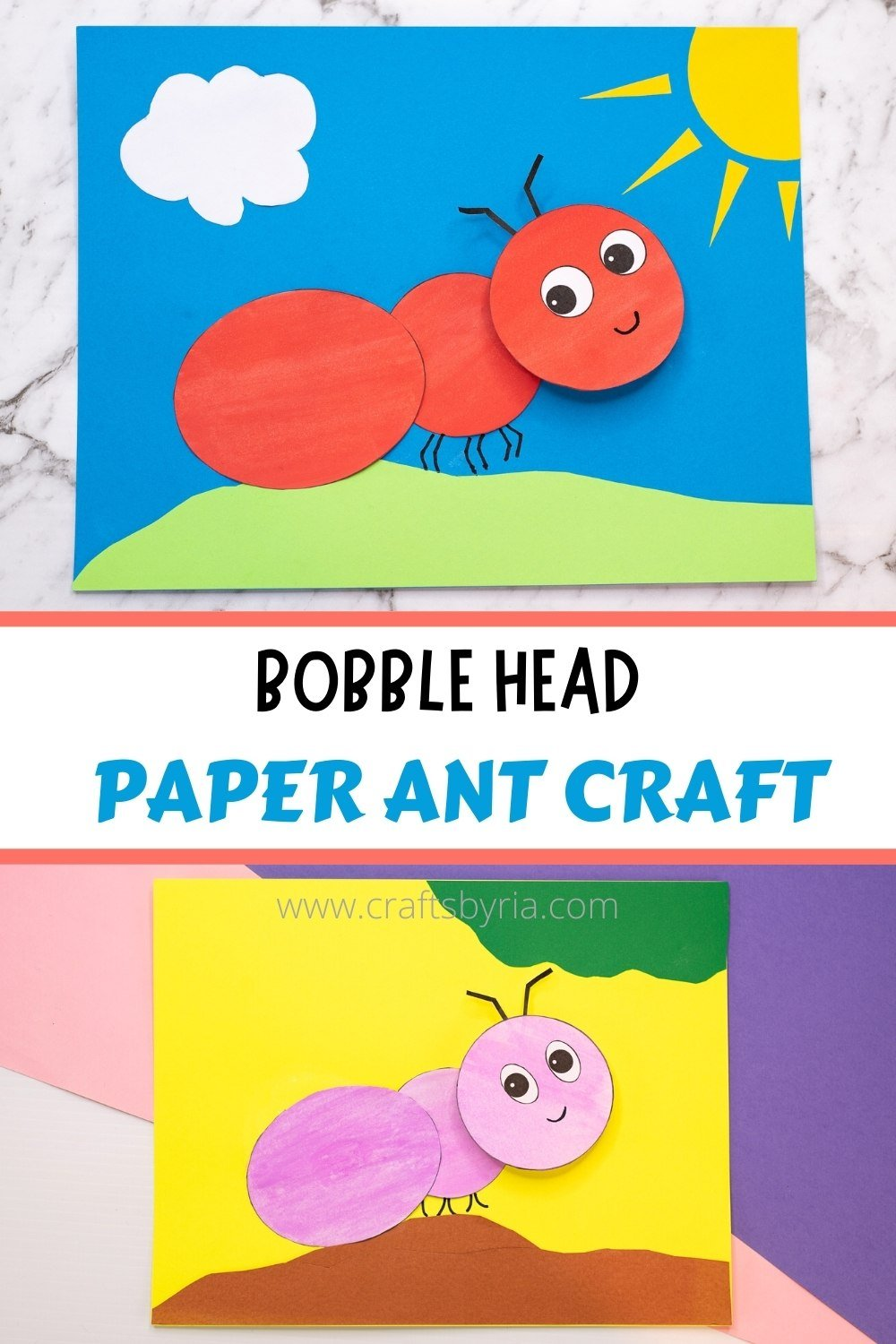 ant craft ideas- image for Pinterest