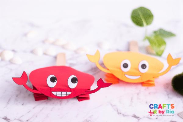 crab activities for preschoolers