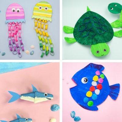 featured image-sea animal crafts