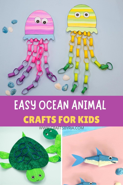 preschool sea animal crafts