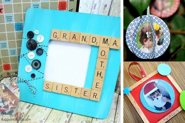 photo frame art and craft