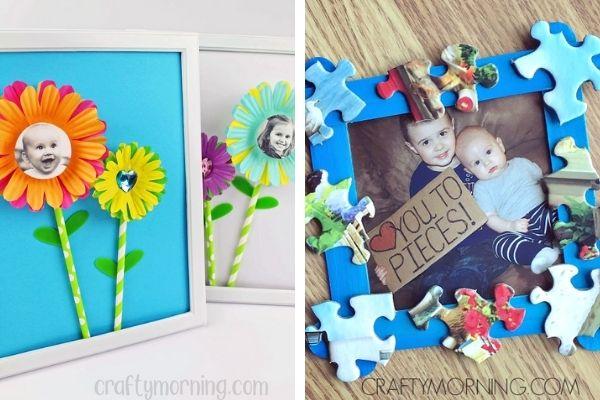 photo frame craft for preschoolers