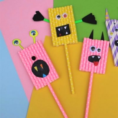 paper straw monster web story