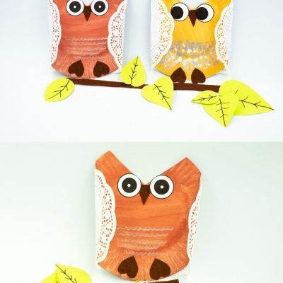 paper plate owl web story poster image (19)
