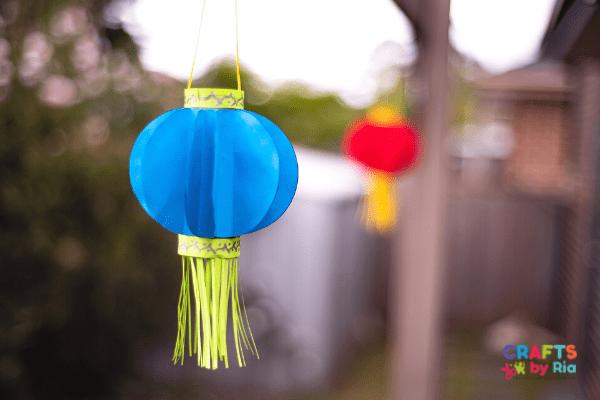 chinese lantern craft for kindergarten and preschool
