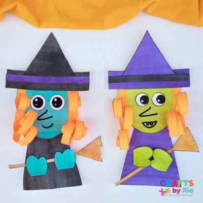 witch paper craft